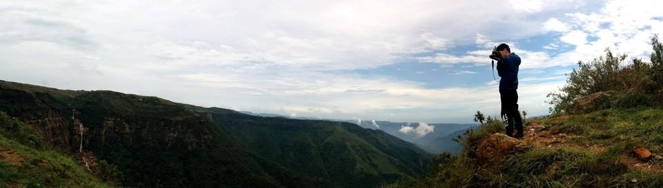 Cherrapunjee Canyon Panorama