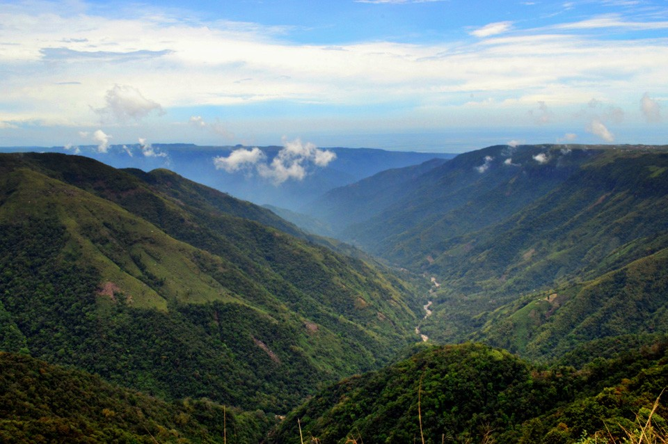 Cherrapunjee Panorama