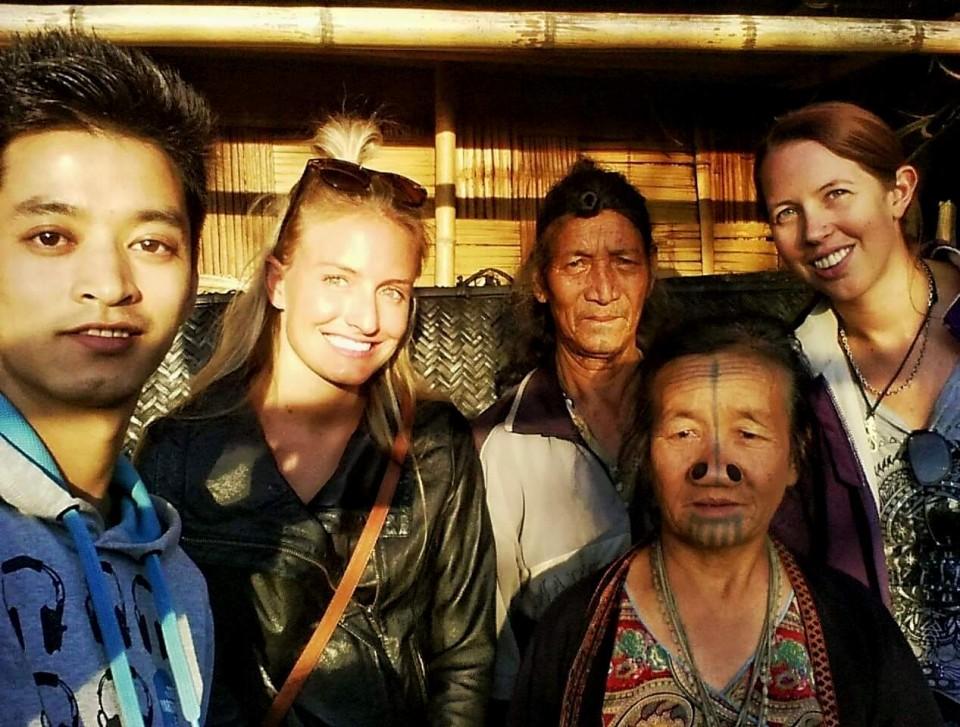 With the Apatani Tribe in Ziro, Arunachal Pradesh
