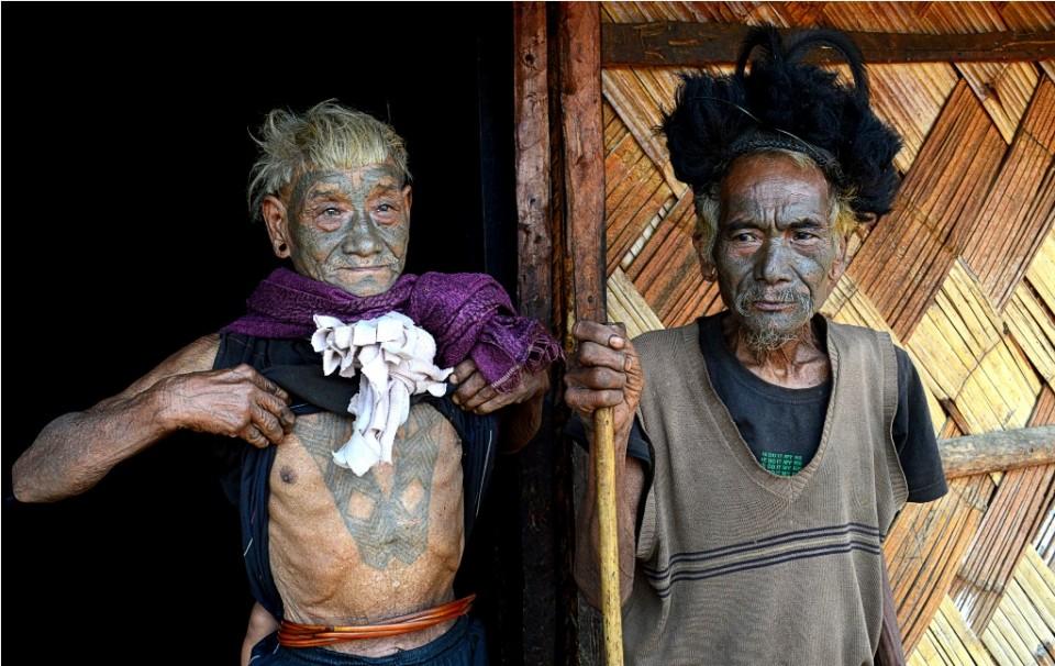 Elder Konyak Tribesmen