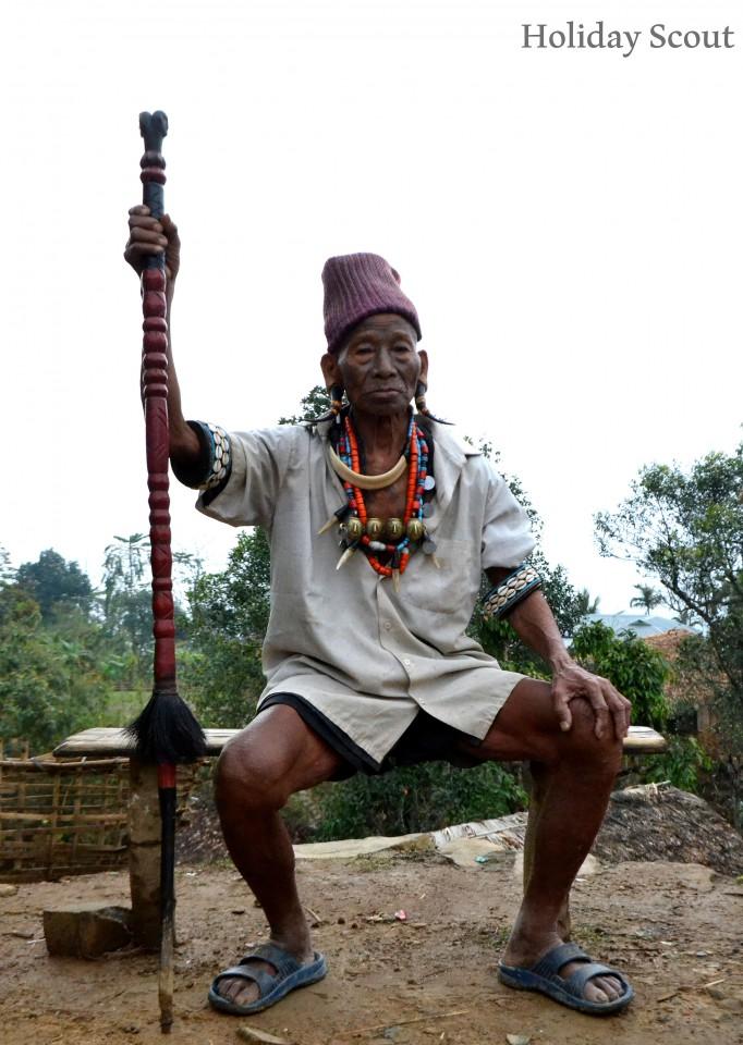 Konyak Man, Mon, Nagaland
