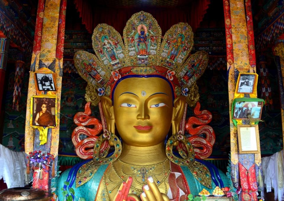 At Thiksay Monastery