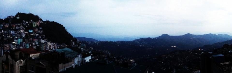Aizawl Panorama