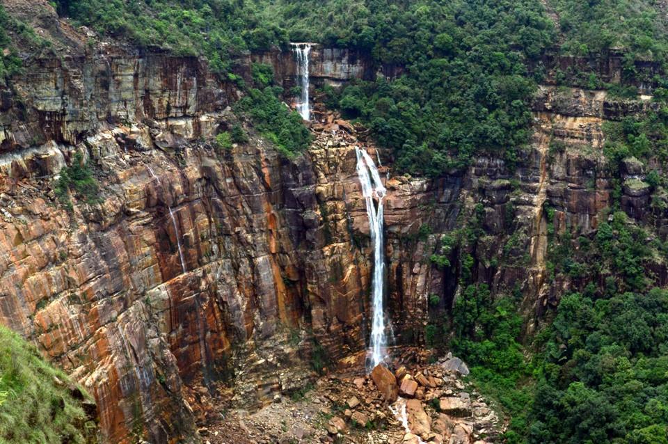 Cherrapunjee Nohkalikai Falls